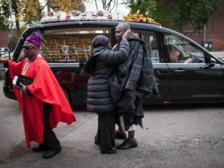 Ghanaian funeral, East End of London