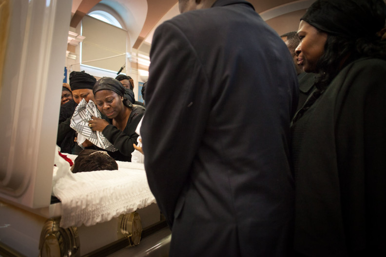 Ghanaian funeral, East End of London