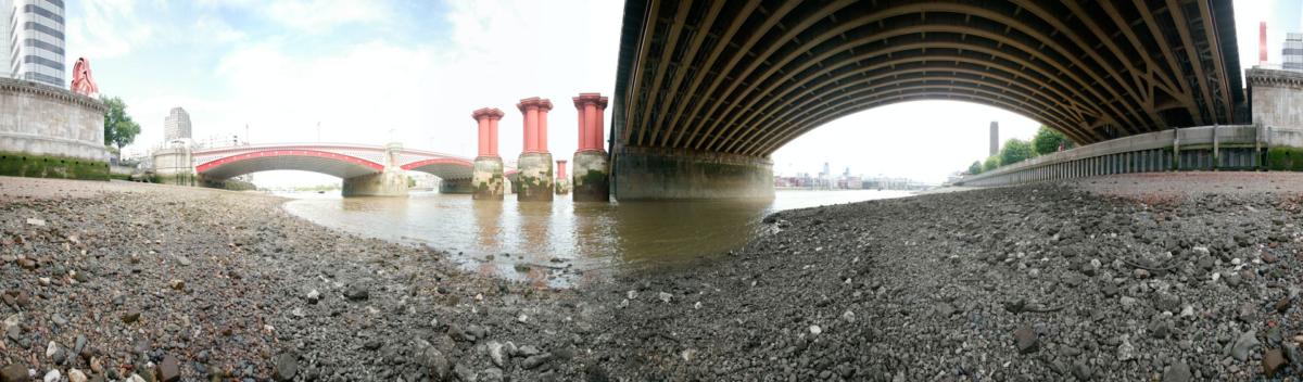 Blackfriars Bridge from Unquiet Thames