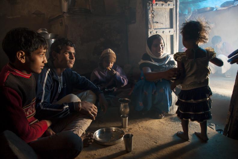 Madhupur Village near Agra, Uttar Pradesh, India.