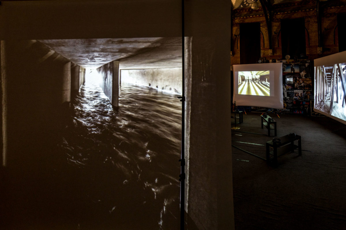 Thames Tides, Susi Arnott, Crispin Hughes, Cinema Museum