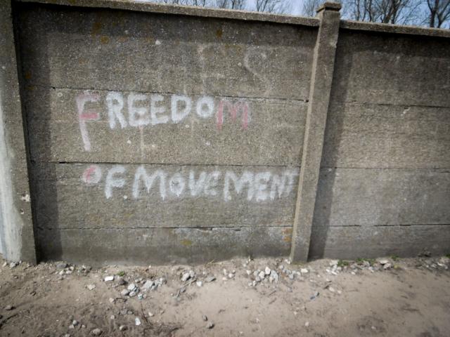 Displaces, Calais Jungle.