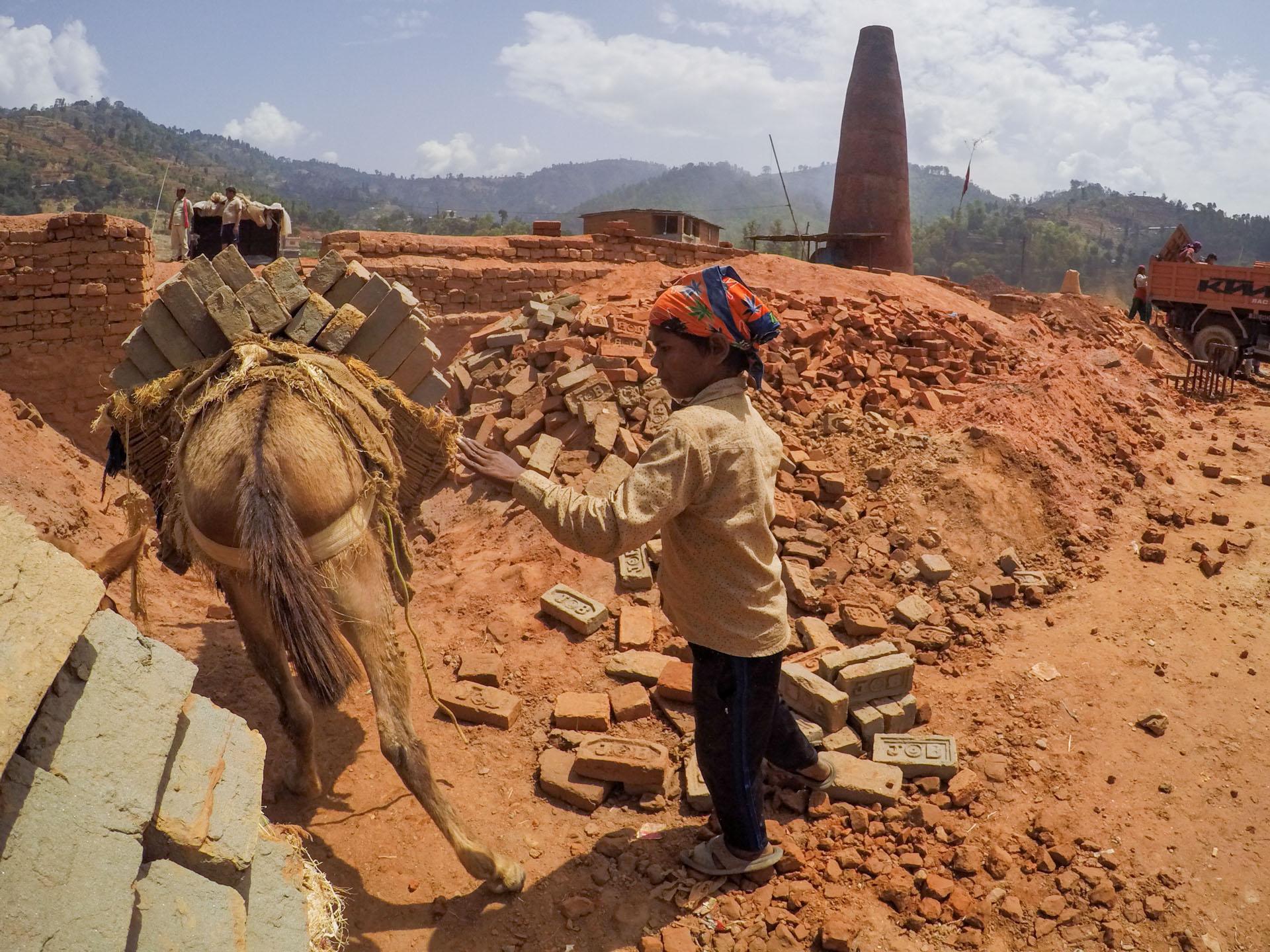 Brick Kiln Kathmandu Nepal