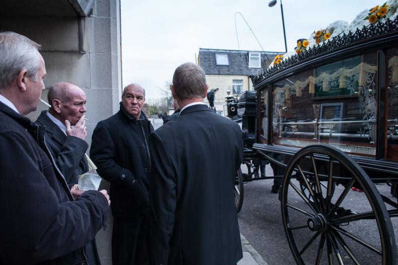 Danny Woollard, East End gangster funeral