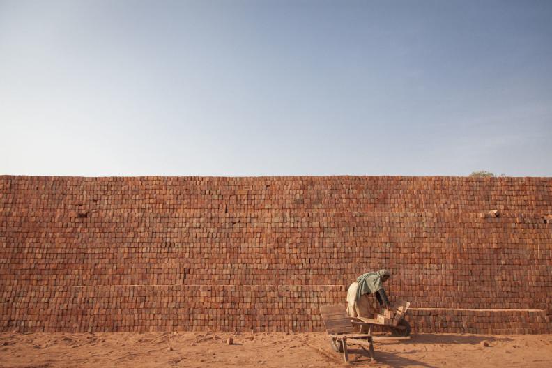 Brick Kiln India donkeys