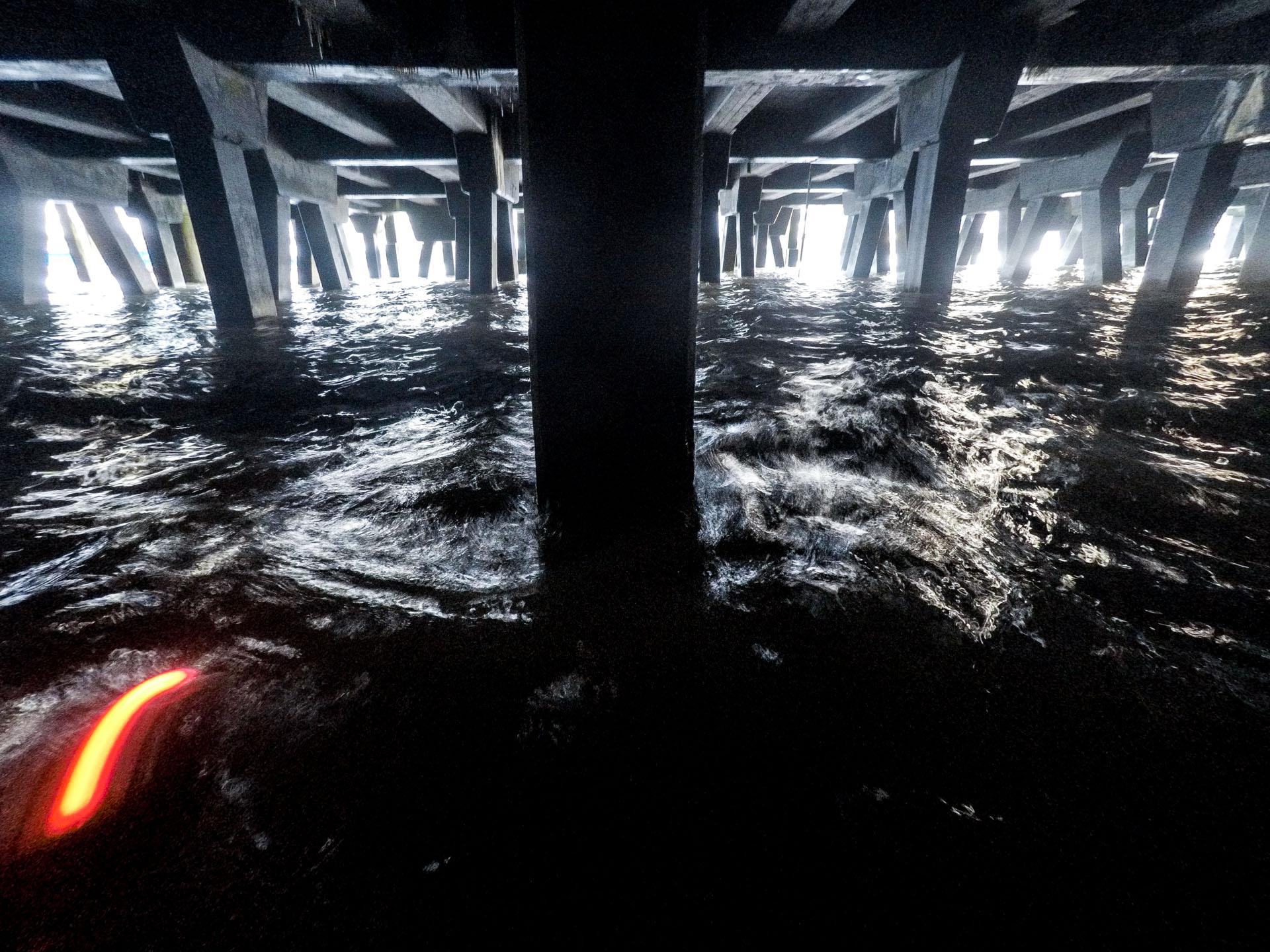 Bobby & Stillman, Thames Tides time-lapse. Susi Arnott & Crispin Hughes