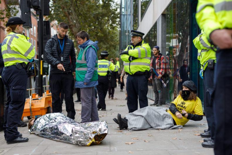 Extinction Rebellion (XR) October Rising, London.