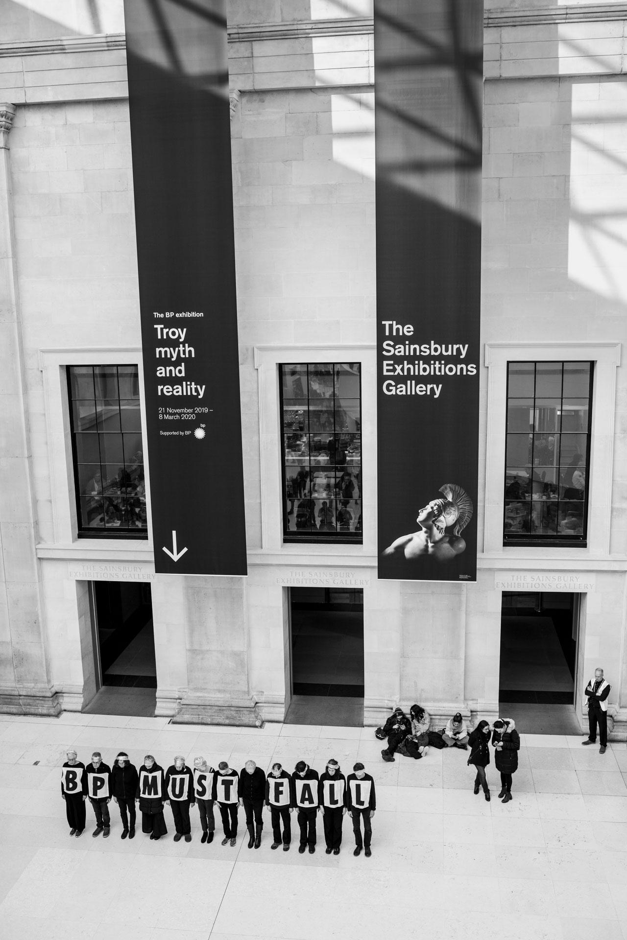 British Museum BP Must Fall
