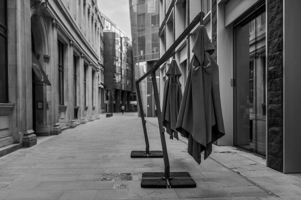 Covid. City of London
